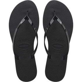 havaianas You Metallic Sandalias Mujer, black